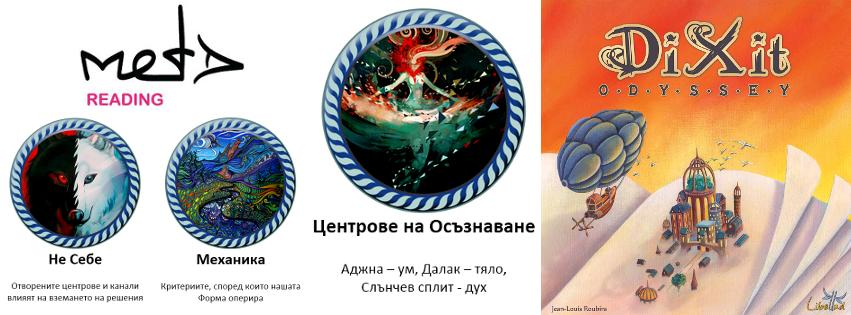 Dixit with Human Design cards