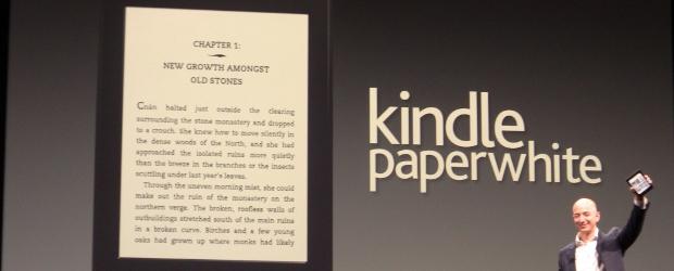 Kindle Paperwhite - новата мания за четене на книги по всяко време!